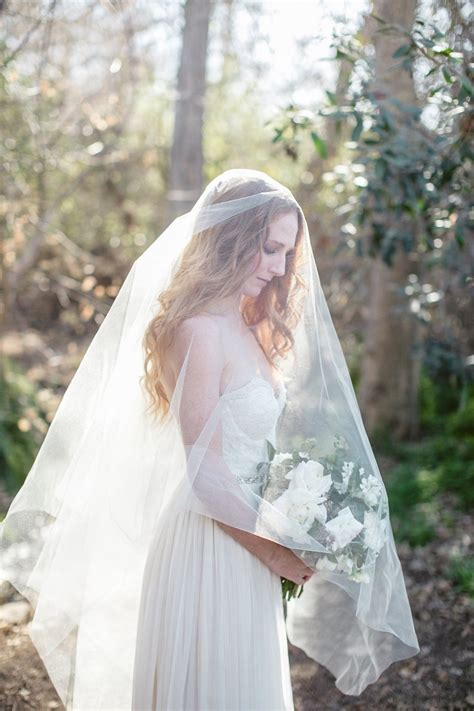 Cathedral Bridal Veil Simple Veil Drop Veil Circle Veil