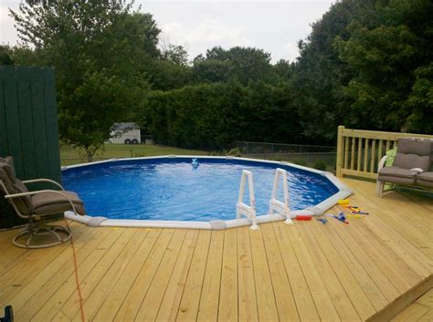Pictures Of Decks Around Above Ground Pool by Deck Around Above Ground Pool