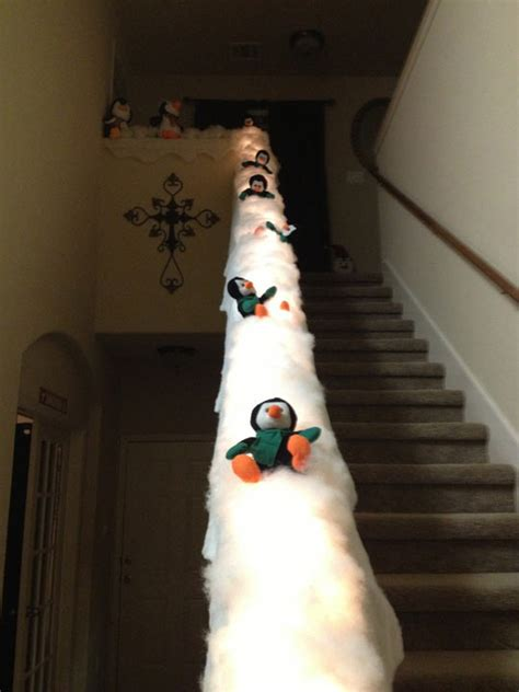 Sliding Banister by Turn Your Banister Into A Penguin Slide