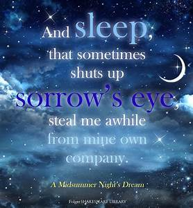 Find This Shakespeare Quote From A Midsummer Nightu002639s