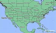 Where is Santa Clara, CA? / Santa Clara, California Map ...