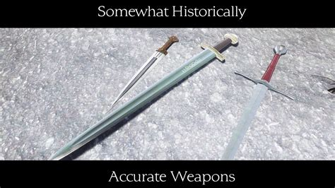 weapons accurate skyrim historically weapon mod somewhat