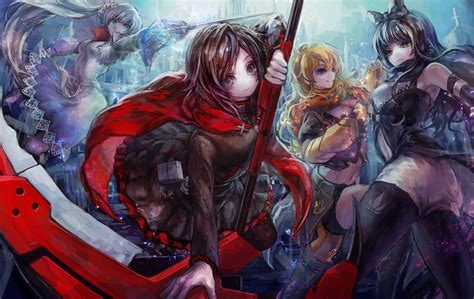 Anime Team Wallpapers - rwby hd wallpaper and background 1920x1213 id 585359