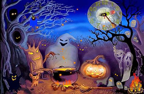 3d Animated Wallpaper Halloween  Free Hd Wallpapers