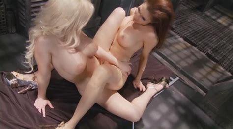 Naked Erika Jordan In Stacked Racks From Mars