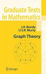 Graph Theory  Graduate Texts In Mathematics   U00ab Mathqed