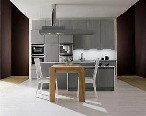 Table De Cuisine Grise : id e d co cuisine grise pour une ambiance harmonieuse ~ Dode.kayakingforconservation.com Idées de Décoration