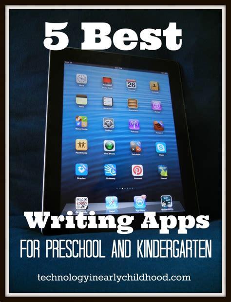 five best reading apps for pre k and kindergarten 590 | 5 best writing apps for prek k e1374460642260