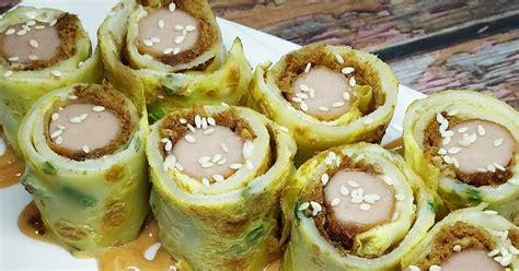 elsa elwin pancake telur gulung