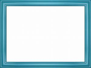Light Blue Elegant Embossed Frame Rectangular Powerpoint ...
