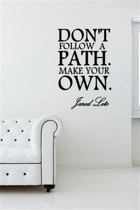 dont follow  path    jared leto