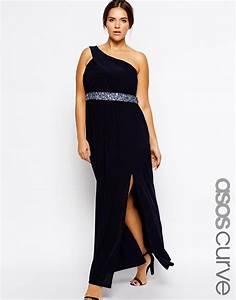 robe noire asymetrique longue grande taille mariage la With robe longue grande taille pour mariage