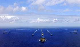 US Navy warships just challenged China with a South China Sea sail-by operation, and Beijing is furious…