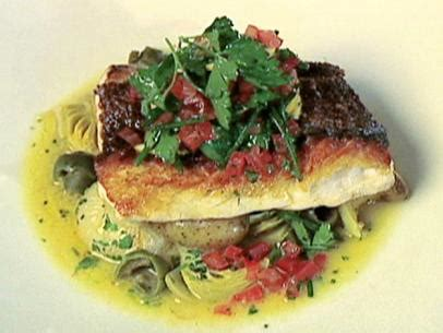 oven baked red snapper recipe food network
