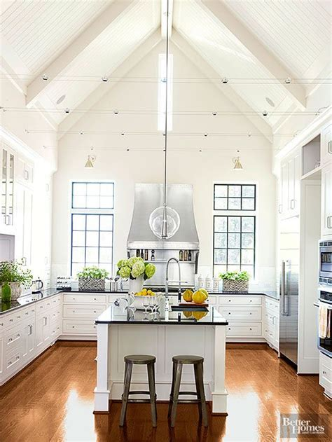 Dramatic Kitchen Architecture   Cabinets, Vaulted ceilings