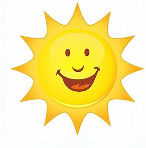 Smiling Sun | Free Images at Clker.com - vector clip art ...