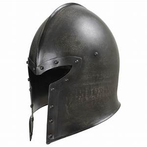 Epic Dark Barbuta Medieval Helmet - Fully Lined and Battle