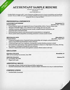 Accountant resume sample and tips resume genius for Accountant resume sample