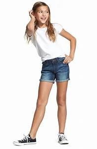 Girls Wearing Denim Shorts | www.pixshark.com - Images Galleries With A Bite!