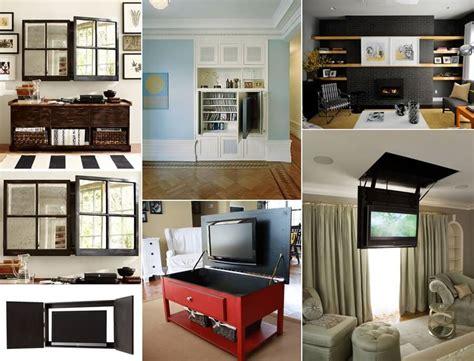 hide  tv   living room