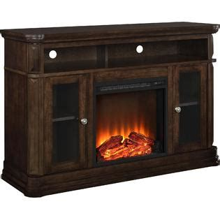 kmart fireplace tv stand dorel home furnishings fireplace tv stand