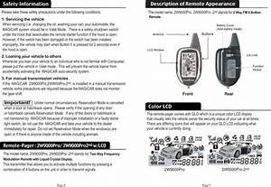 Youngshin Electronics Jr561fm907 Two Way Car Alarm System