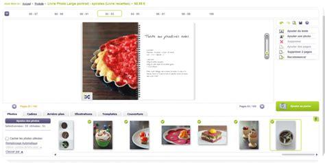 faire un livre de cuisine créer livre de cuisine gourmandise en image