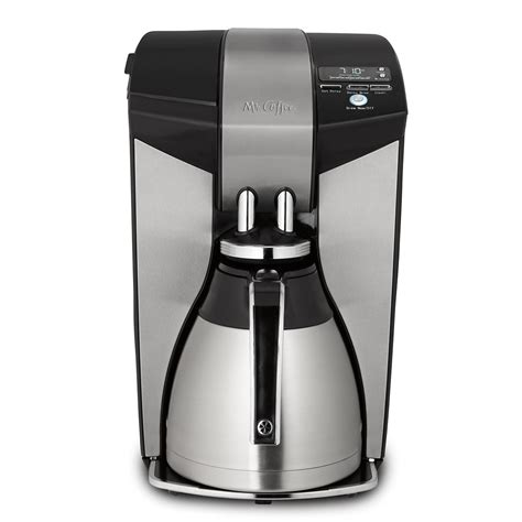 I made myself a pot of coffee, filling the water reservoir up to. Mr. Coffee® Optimal Brew™ 12-Cup Programmable Coffee Maker ...