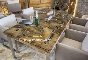 Wurzelholz Tisch Mit Glasplatte : design esstisch aus altholz mit edelstahlgestell der tischonkel ~ Bigdaddyawards.com Haus und Dekorationen