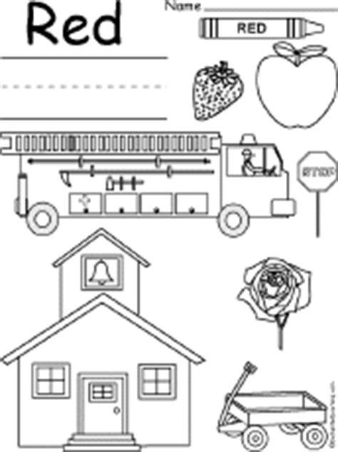 Coloring and Drawing Worksheets: Colors at