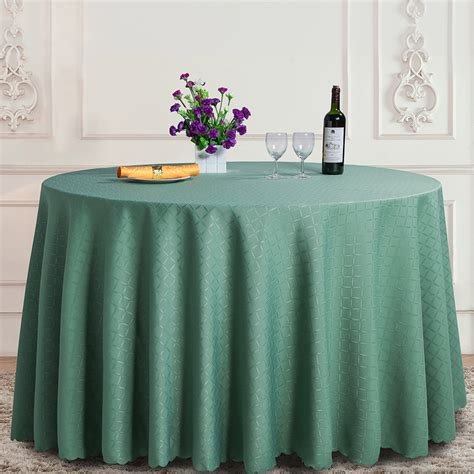table cloth setting aliexpress com buy green plaid 100 polyester round tablecloth rectangular dining table cloth