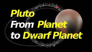 Why Pluto went from Planet to Dwarf Planet - YouTube