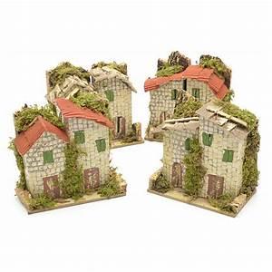 Maison De Noel Miniature : maison pierre en miniature pour cr che de noel 10x6 cm vente en ligne sur holyart ~ Nature-et-papiers.com Idées de Décoration