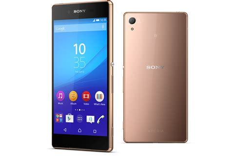 telephone portable sony the xperia z3 is a slim android mobile
