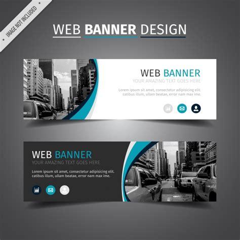 azul e branco design web banner baixar vetores gr 225 tis