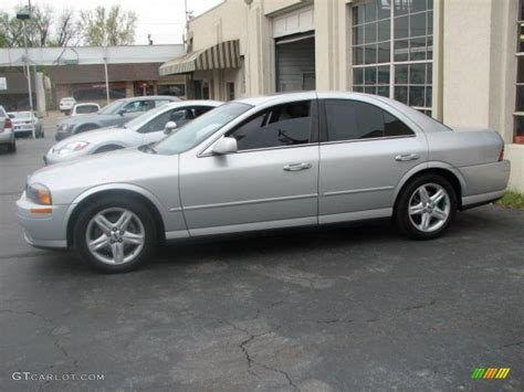 gold and silver ls 2001 silver frost metallic lincoln ls v8 47704978