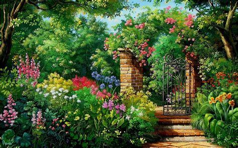 Garden Wallpaper by Garden Hd Wallpaper Background Image 1920x1200
