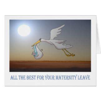 maternity leave cards invitations zazzlecouk