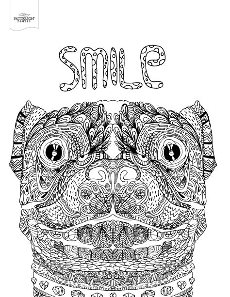 10 Toothy Adult Coloring Pages Printable Off The Cusp