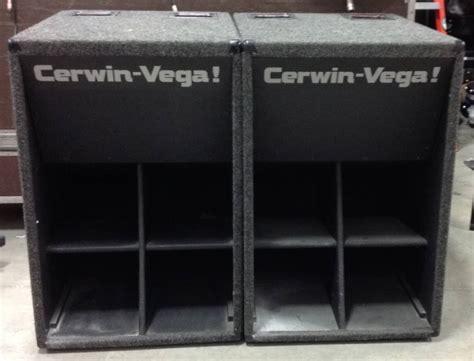 cerwin vega   pe subwoofer cabinets  solutions