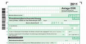 Einkommensteuererklärung 2015 Berechnen : anlage einnahmen berschussrechnung komplett alle ab 2010 pierre tunger ~ Themetempest.com Abrechnung
