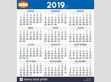 Calendario 2019 Imágenes De Stock & Calendario 2019 Fotos