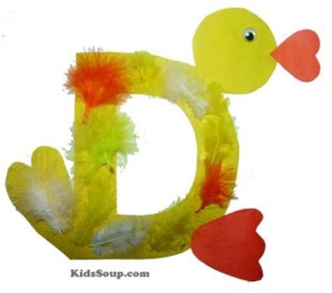 duck craft  fingerplay kidssoup