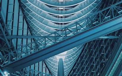 Construction Building Structure Transitions 4k Background 1080p