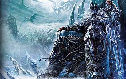 Warcraft Wallpapers King Lich Wrath Fantasy