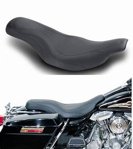 Mustang Motorcycle Daytripper Seat For Harley Davidson Fl