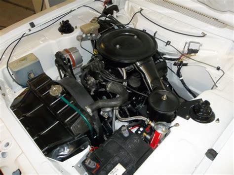 ford capri   engine bay refurb  engine rebuild