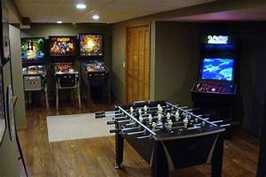 Fashionable game room ideas for basement Game Room Ideas