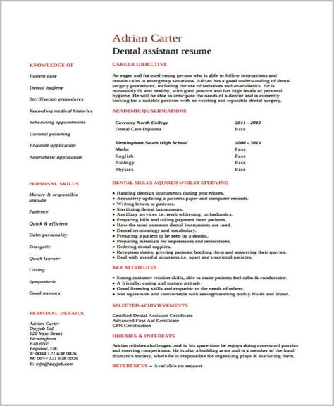 Cv Templates And Exles by Curriculum Vitae Exles For Students Student Cv Exle 187
