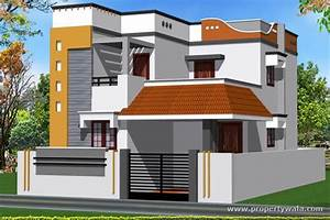 Independent House Elevation Designs South India Home ...